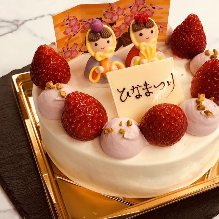 2019 ひなまつりケーキ.2